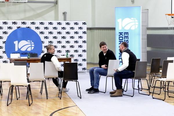 Eesti Korvpalliliidu pressikonverents (Siim Semiskar)