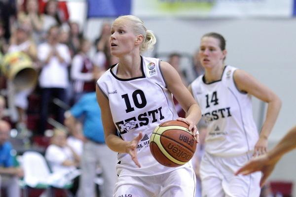 Korvpallihing Merike Anderson: Eesti koondis on minu jaoks auasi